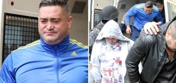 Joseph Rivas (stânga) a fost arestat pentru jaf armat