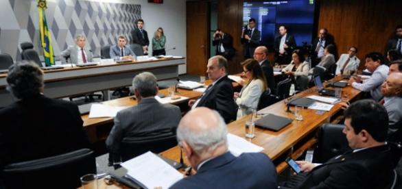 Comissão do senado que julgará impeachment de Dilma