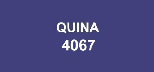 Quina 4067; Sorteado prêmio milionário!