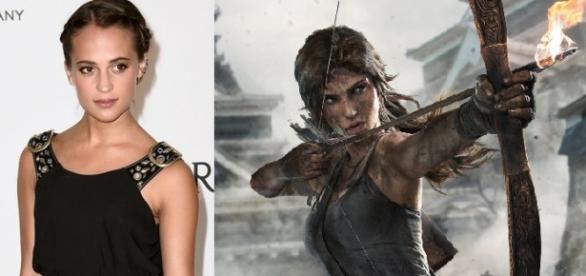 A vencedora do Oscar, Alicia Vikander, é Lara Croft