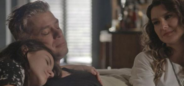 Arthur fica com Natasha no final da novela