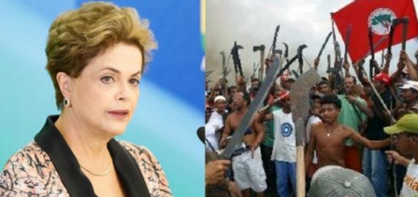 Dilma e Movimento dos Sem Terra