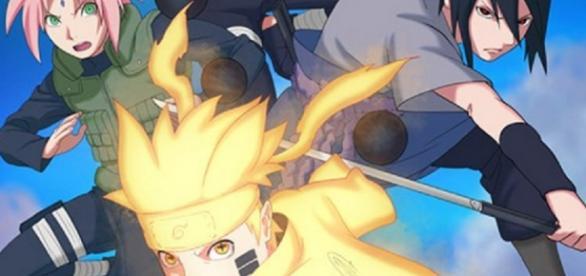 Ilustración promocional del arco final de Naruto