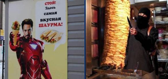 Oficialii din Moscova vor să interzică șaorma și kebabul la toate chioșcurile din oraș - Surse foto Twitter