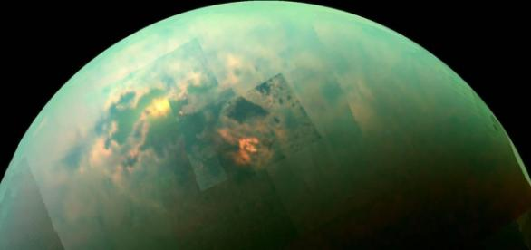 Saturn's moon Titan continues to surprise researchers (Credit: NASA/JPL/Univ. Arizona/Univ. Idaho)