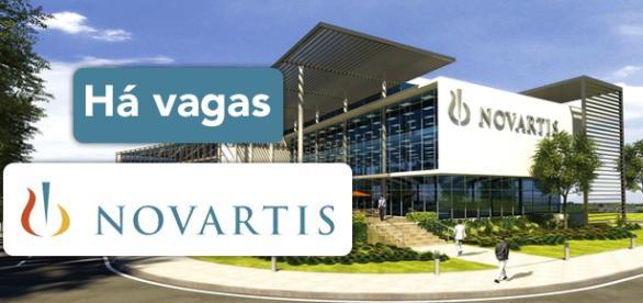 Vagas na Novartis. Foto: Reprodução Aevitasgroup.