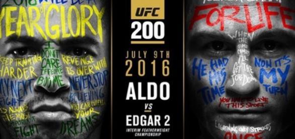 A luta acontecerá no dia 9 de julho em Las Vegas (Foto: Divulgação)