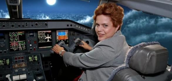 Dilma pode viajar pelo mundo fazendo sua defesa