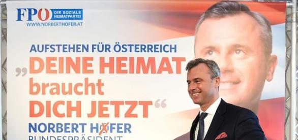 """L'ascesa del partito di destra radicale """"FPO"""" in Austria"""