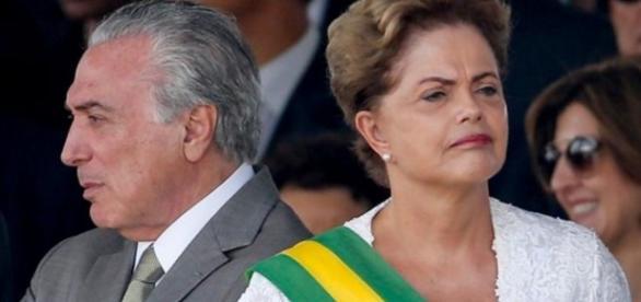 Michel Temer e Dilma Rousseff - Imagem/Google