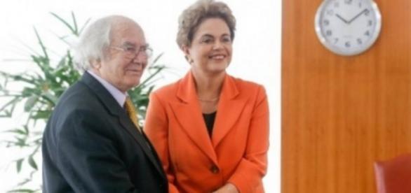 Nobel da Paz e Dilma Rousseff - Foto/Divulgação