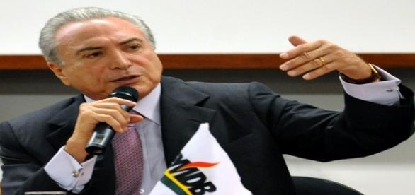 O vice-presidente Michel Temer (PMDB)