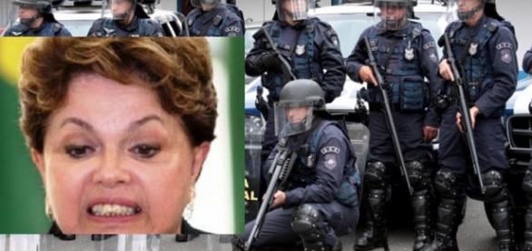 Polícia do Senado e Dilma Rousseff