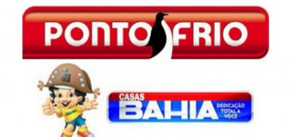 Vagas no Ponto Frio e Casas Bahia