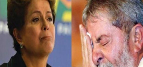 Dilma Rousseff e Luiz Inácio Lula da Silva - Foto/Montagem
