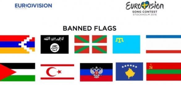 Eurovisión ha tenido que rectificar después de incluir la bandera vasca