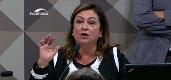 Kátia Abreu - Foto/Reprodução: TV Senado