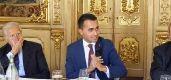 Di Maio in occasione del lunch-talk tenutosi all'Ispi.