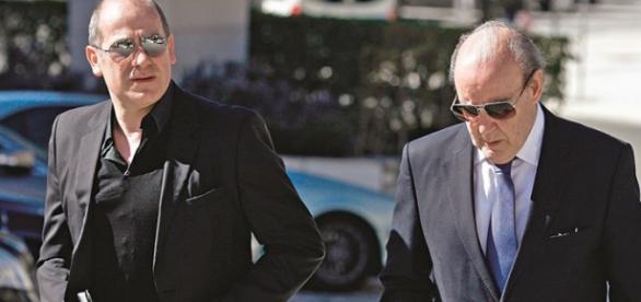 O Presidente do FC Porto com Antero Henrique