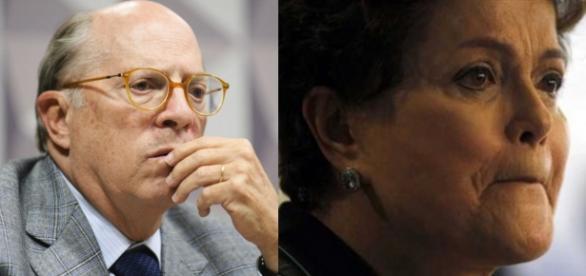 Reale e Dilma Rousseff - Foto/Montagem