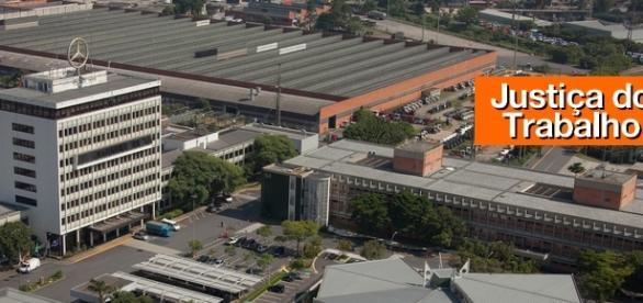 Sede da Mercedes-Benz em São Bernardo (Foto: Divulgação)