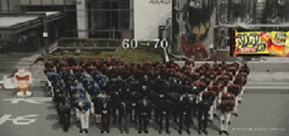 fotograma del vídeo de la empresa Akagi Nyugyo