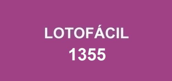 Lotofácil 1355; Último resultado de abril.
