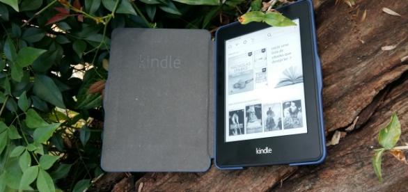 O Kindle Paperwhite Wi-Fi é um dos modelos com luz embutida (Foto: Flávia Resende)