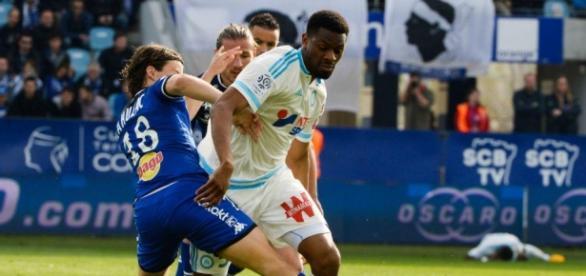 Abou Diaby en action face à Bastia