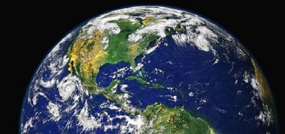 Earth as seen from space (NASA)