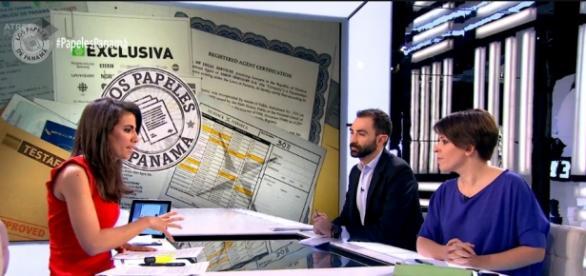 Periodista Ana Pastor presenta la exclusiva en 'El Objetivo' de la Sexta TV