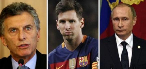 Vladimir Putin, Messi y Macri implicados en los Papeles de Panamá.