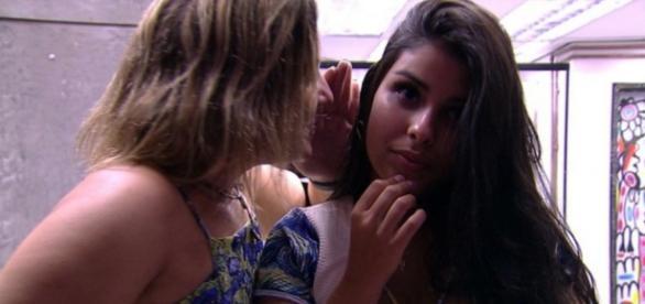 Cacau e Munik - Foto/Reprodução: Globo