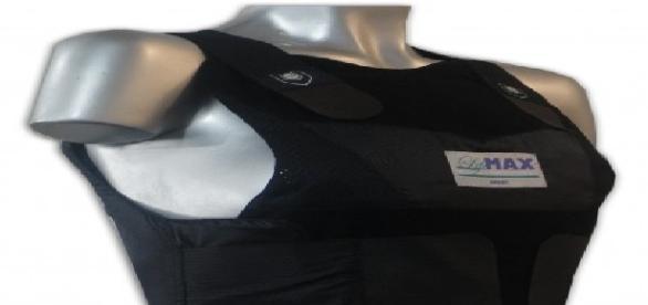 Chaleco antibalas indicado para las mujeres policía.