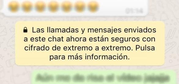 El mensaje de Whatsapp que ha sorprendido a todo el mundo.