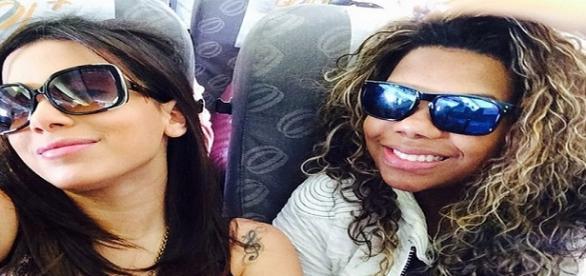 Foto reprodução: Instagram. Anitta e Ludmilla