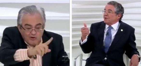 Jornalista e Ministro se estranham em entrevista
