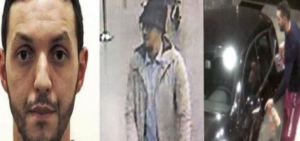 """Mohamed Abrini el posible sospechoso de ser el """"hombre del sombrero""""."""