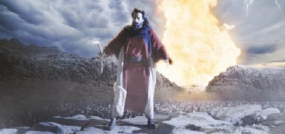 Os Dez Mandamentos - Foto/Reprodução: TV Record