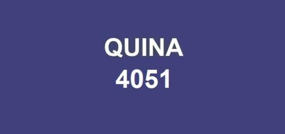 Resultado do concurso Quina 4051
