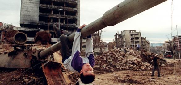 Sarajevo la finalul războiului