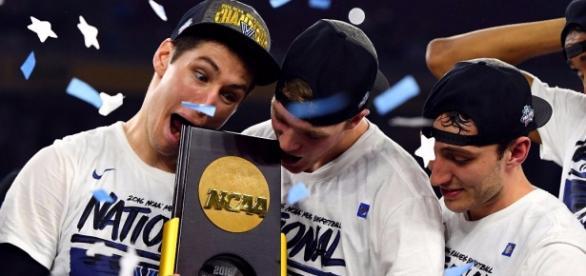 Villanova celebrando el título de la NCAA