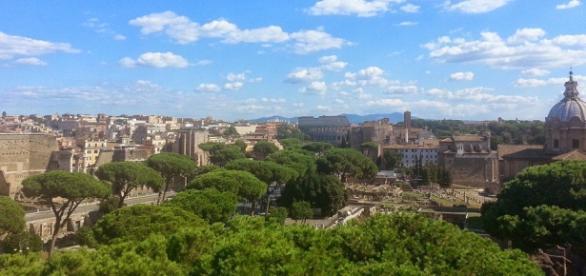 Aprile 2016: Roma a piedi per l'ultima domenica ecologica.