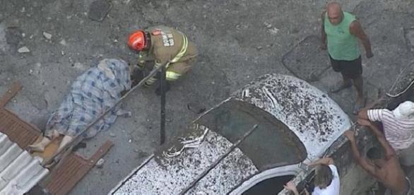 Explosão ocorreu no primeiro andar do prédio deixando 5 mortos