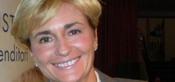 Federica Guidi, ex ministro dello Sviluppo.