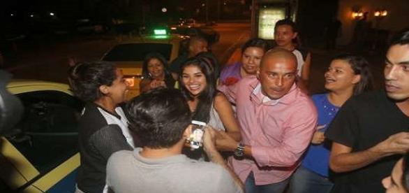 Foto: AgNews. Munik em festa particular