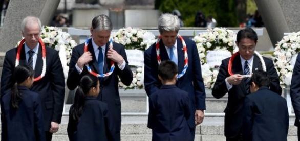 John Kerry visita Hiroshima, en conmemoración de la primera bomba atómica