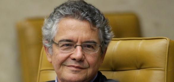 Ministro do STF, Marco Aurélio Mello, que proferiu decisão para abertura de processo de impeachment contra Michel Temer, vice-presidente da República.