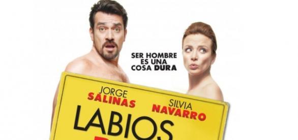 Poster de divulgação do filme 'Labios Rojos'