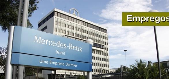Sede da Mercedes-Benz em São Bernardo do Campo